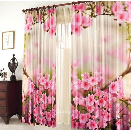 Купить Фотошторы блэкаут ТамиТекс «Весенние цветы»