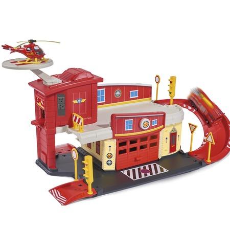Купить Набор игровой для мальчика Dickie «Пожарный гараж с аксессуарами»