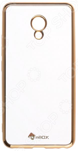 Чехол защитный skinBOX Meizu M5 чехлы для телефонов with love moscow силиконовый дизайнерский чехол для meizu m3s перья