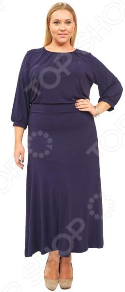 Платье Матекс «Алиша». Цвет: синий
