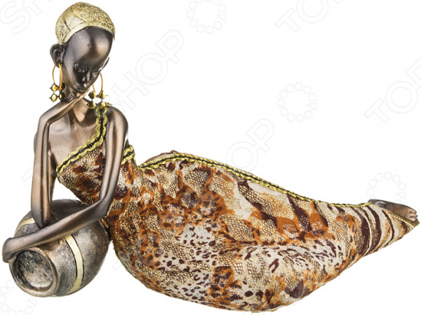 Статуэтка Lefard «Африканка» 174-358 статуэтка африканка 7 8 32см 1096506