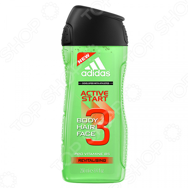 Гель для душа мужской Adidas Shower Gel Male Active Start fa гель для душа oriental moments 250 мл