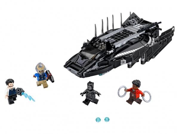 Конструктор игровой LEGO Super Heroes «Нападение Королевского Когтя» конструктор lego super heroes нападение с воздуха 76087 l