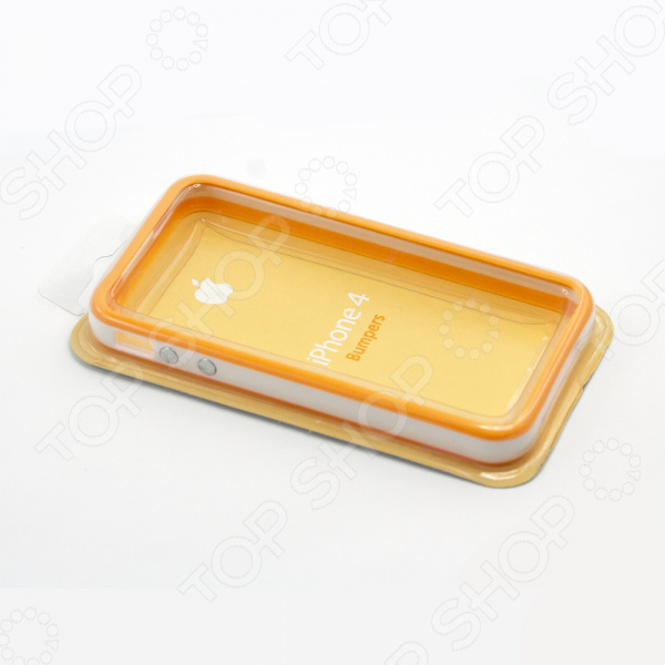 Бампер защитный для iPhone 4/4S двухцветный бампер защитный для iphone 4 4s case durable