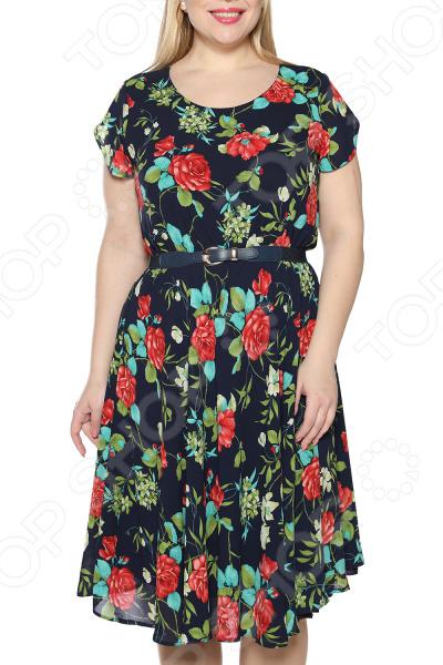 Платье LORICCI «Легкий день». Цвет: синий платье loricci белые ночи цвет серый