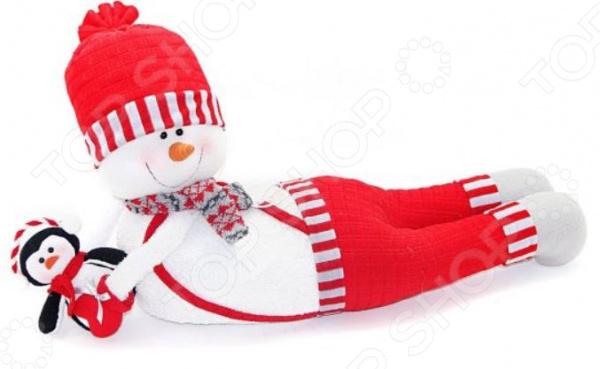 Кукла под елку Новогодняя сказка «Снеговик-весельчак»