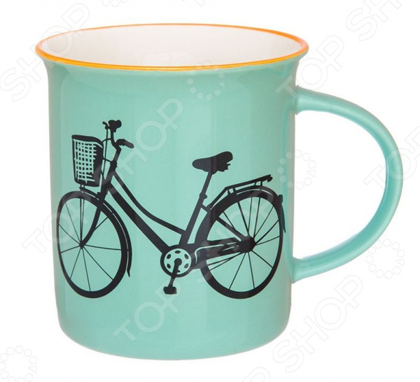 Кружка Elan Gallery «Велосипед»