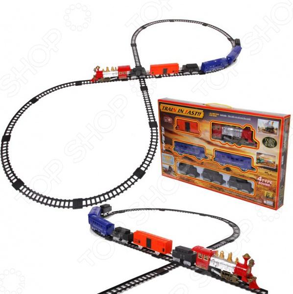 Набор железной дороги игрушечный Yako 1724261. В ассортименте