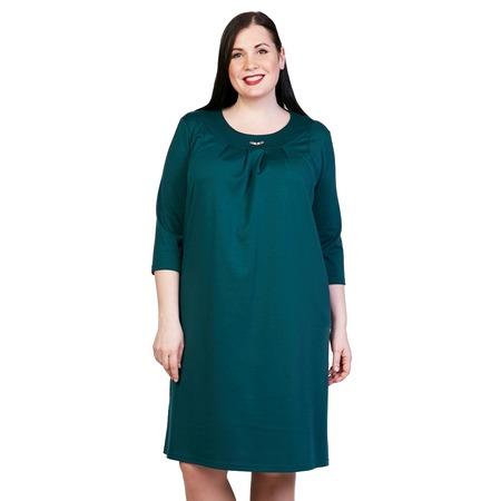 Купить Платье Лауме-Лайн «Счастливый взгляд». Цвет: зеленый