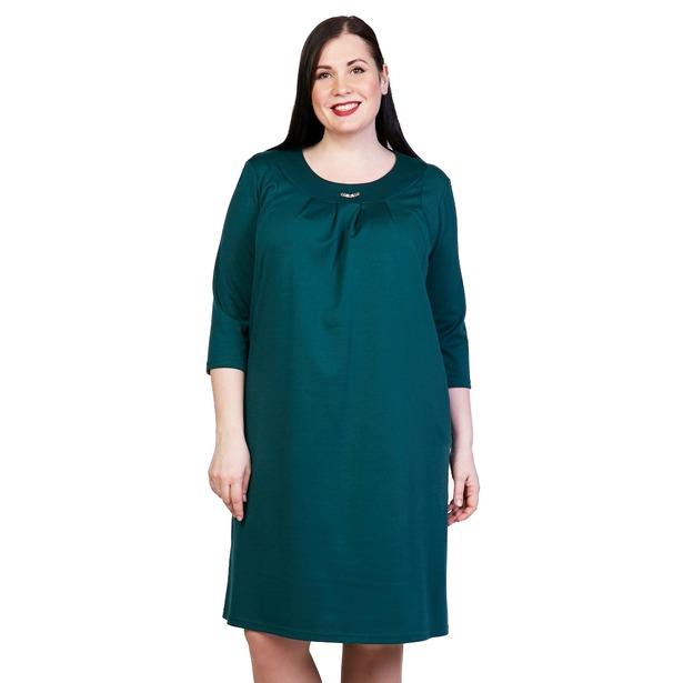 фото Платье Лауме-Лайн «Счастливый взгляд». Цвет: зеленый