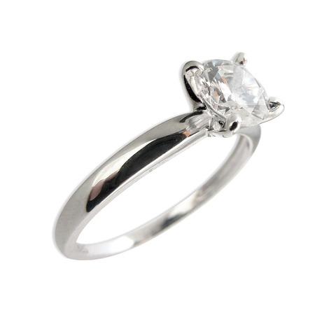 Купить Серебряное кольцо с фианитом Andreana «Раунд»