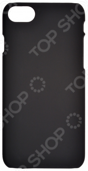 Накладка защитная для iPhone skinBOX Apple iPhone 7 чехлы для телефонов skinbox накладка для lenovo vibe c skinbox серия 4people защитная пленка в комплекте