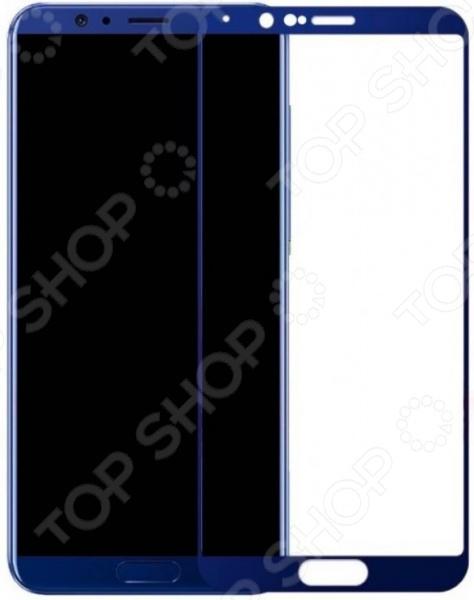 Стекло защитное 2.5D Media Gadget полноклеевое для Huawei Honor V10 аксессуар защитное стекло для oppo f7 2018 media gadget 2 5d full cover glass black frame mgfcof718bk
