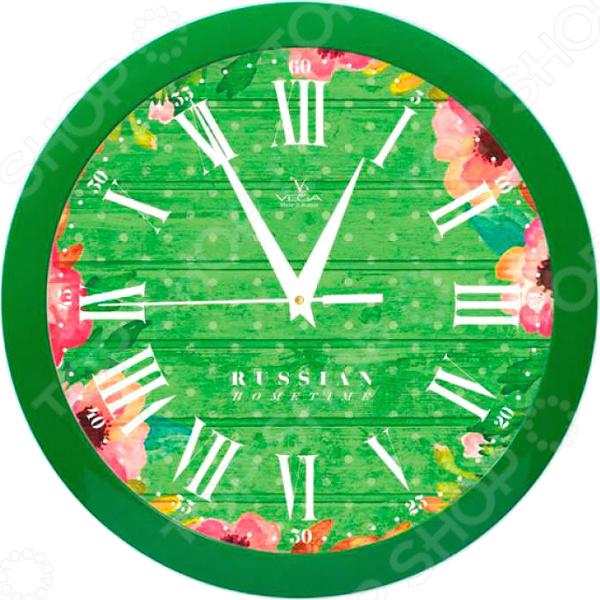 Часы настенные Вега П 1-3/7-285 «Яркие краски»
