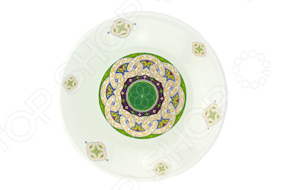 Блюдо Эмаль «Восточный» блюдо эмаль микс