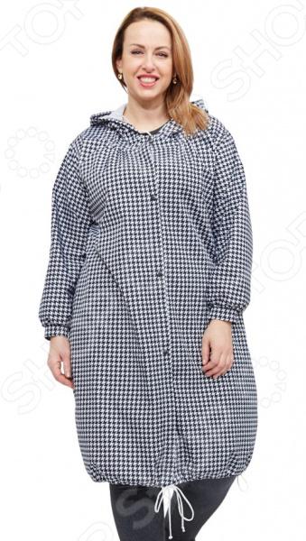 Плащ СВМ-ПРИНТ «Марьяна». Цвет: черный женские блузки и рубашки new brand s 6xl 2015 blusa