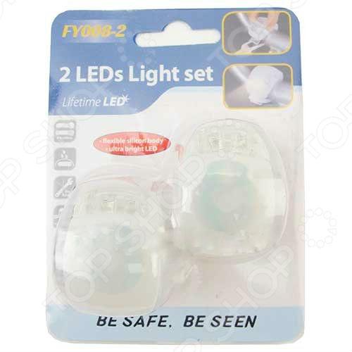 Набор фонарей велосипедных Action TX80596. В ассортименте