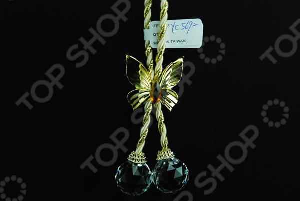 Новогоднее украшение Crystal Deco «Шарики»