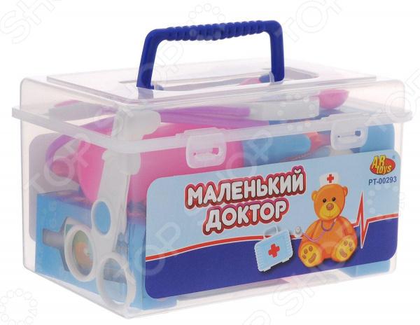 Набор доктора игрушечный ABtoys «Маленький доктор» PT-00293