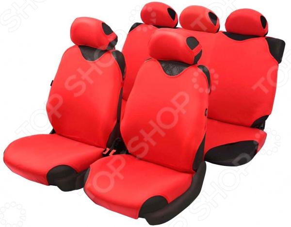 Набор чехлов-маек для сидений Azard Cotton поворотный механизм для сидений в украине