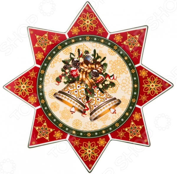 Блюдо Lefard «Новый Год!» 586-150 блюдо для блинов с крышкой lefard emma 586 041