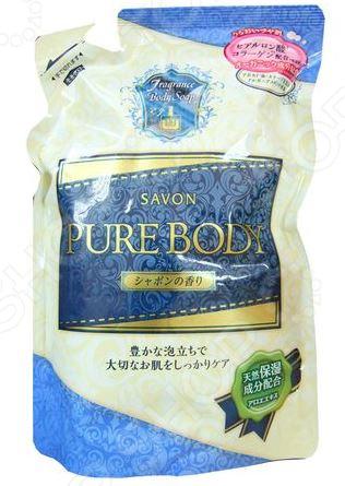 Гель для душа Mitsuei Pure Body с ароматом свежести очищающий гель для душа с цветочным ароматом vprove vita e sensual body cleanser