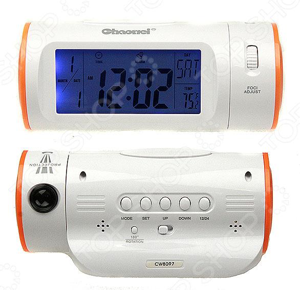 Метеостанция 48116 электронный прибор, который фиксирует погодные условия и выводит показатели на дисплей. Он не только измеряет, но и просчитывает для вас прогноз погоды на ближайшее время. В каждой электронной метеостанции есть цифровой датчик, с помощью которого происходит измерение погодных показателей. Домашняя метеостанция это современный многофункциональный прибор, который не только украсит ваш стол, но и принесет несомненную пользу. Устройство пользуется особой популярностью среди людей, страдающих от резких изменений атмосферного давления. Метеостанция поможет проследить за перепадами давления и вовремя принять меры по улучшению самочувствия. Данная модель относится к инновационным метеостанциям с возможностью проецирования данных на стене. Дисплей подсвечивается голубой подсветкой, а управление происходит путем нажатия кнопок. Прибор регистрирует температурные показатели и выводит их на экран. Также, в систему метеостанции встроены программа часов и календаря. Для большей продуктивности добавлена функция будильника, которая не позволит вам проспать в ответственный момент. Электронная метеостанция проста в уходе и питается от батареек типа ААА. Прибор станет не только оригинальным, но и полезным подарком, который порадует своего владельца.