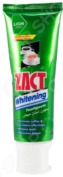 Зубная паста Lion Thailand Zact отбеливающая