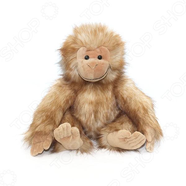 Мягкая игрушка Gulliver «Обезьянка Анфиска» gulliver игр мягкая полярный мишка лежачий 30см