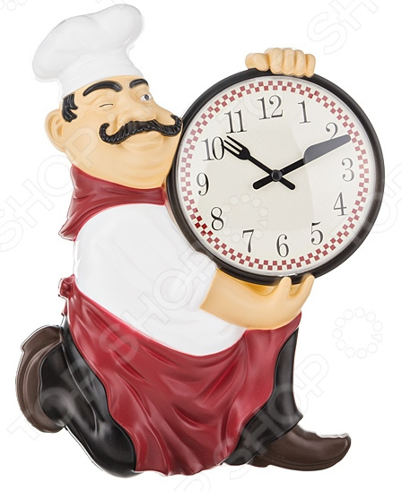 Часы настенные Lefard Chef kitchen 220-120 random chef print kitchen mat 1pc