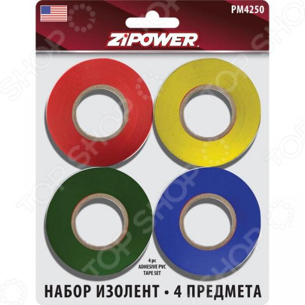 Набор изоленты Zipower PM 4250 Zipower - артикул: 1836916