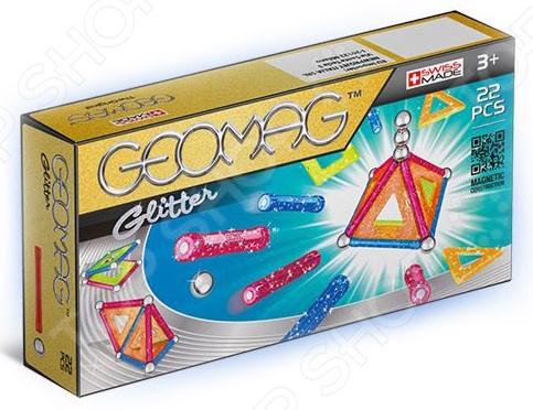 Конструктор магнитный Geomag 530 Glitter