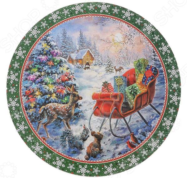 Подставка под горячее Gift'n'home «Рождественские подарки»