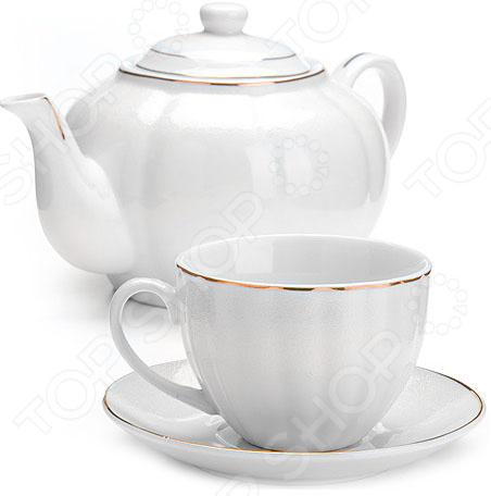 Чайный набор Loraine LR-26421 стеллар детская посуда чайный набор