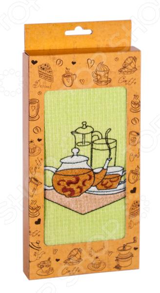 Полотенце вафельное Dinosti «Приглашение к чаепитию». В ассортименте