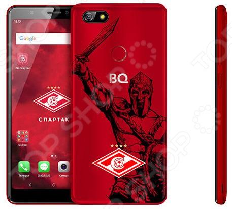 Смартфон BQ 5500L Advance LTE серия «Спартак-Москва» смартфон bq bq 5500l advance lte black