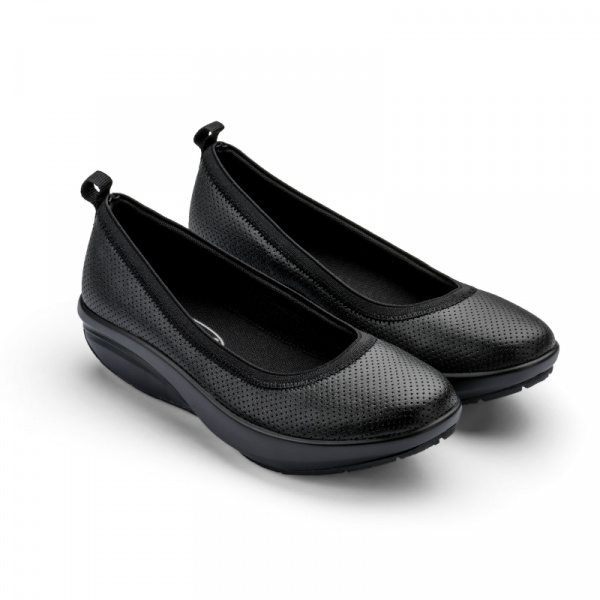Балетки элегантные Walkmaxx Comfort 2.0. Цвет: черный