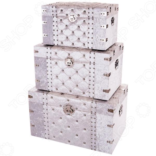 Комплект сундуков декоративных Lefard 714-054 бусы из дерева кубизм ндр 054 зн