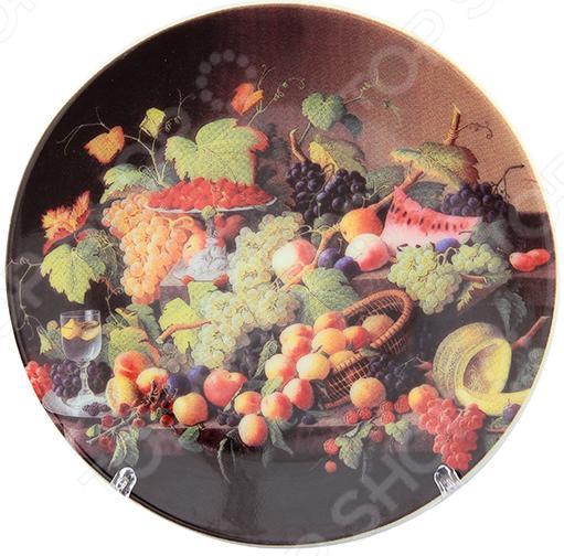 Zakazat.ru: Тарелка декоративная Elan Gallery «Натюрморт с фруктами»