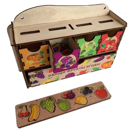 Купить Сортер-комод PAREMO «Овощи, фрукты и ягоды»
