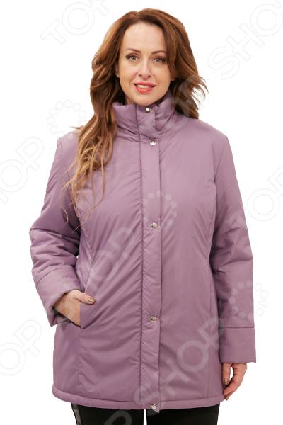 Куртка СВМ-ПРИНТ «Тепло на двоих». Цвет: сиреневый