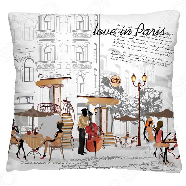 Подушка декоративная Волшебная ночь «С любовью из Парижа»