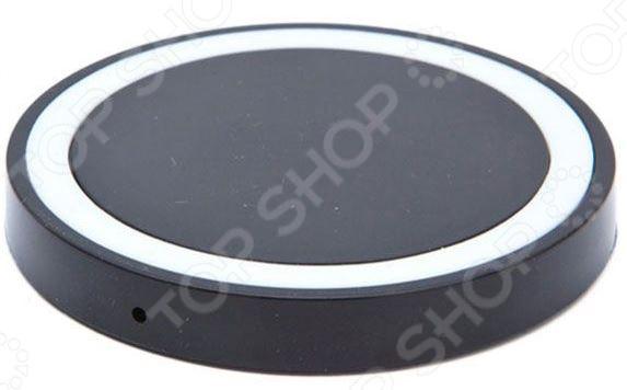 Аккумулятор для смартфонов беспроводной круглый Bradex с Lightning разъемом Аккумулятор для смартфонов беспроводной круглый Bradex SU 0050 /Черный