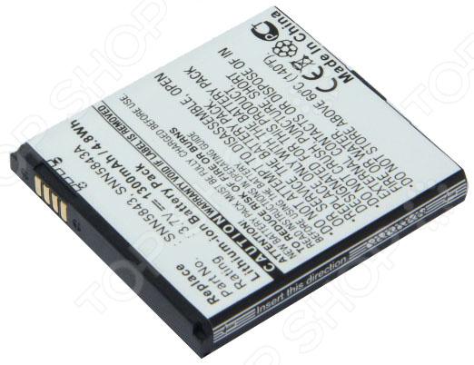 Аккумулятор для телефона Pitatel SEB-TP401 аккумулятор для телефона pitatel seb tp1028