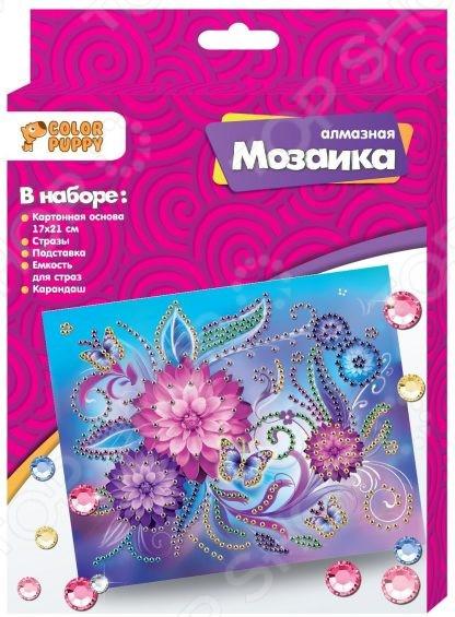 Набор для создания мозаики Color Puppy «Цветы»