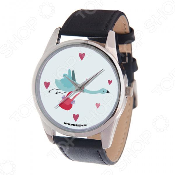 Часы наручные Mitya Veselkov «Журавлик»