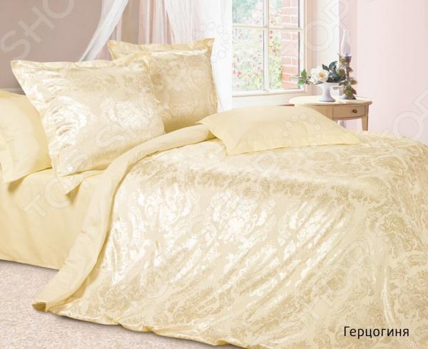 Комплект постельного белья Ecotex «Герцогиня». 2-спальный постельное белье ecotex комплект постельного белья герцогиня