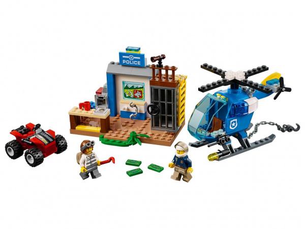 Конструктор игровой LEGO Juniors «Погоня горной полиции» кирилл шелестов погоня