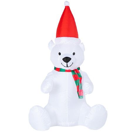 Купить Фигурка надувная Neon-Night «Белый медведь»