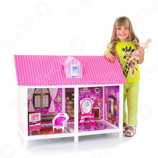 Кукольный дом с аксессуарами PAREMO PPCD116